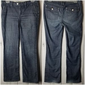 Banana Republic Classic Boot Cut Stretch Jeans